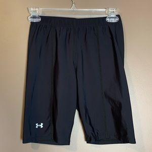 Under Armour black compression shorts